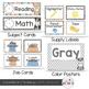 Dog Theme Classroom Decor {Editable}
