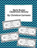 Dog Theme Classroom Money: Bark Bucks