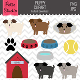 Dog Theme Clipart // Pet Clipart - Animals100