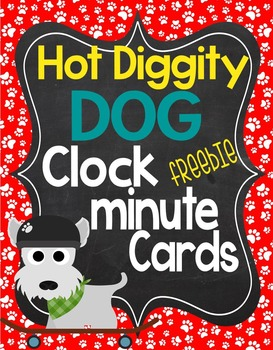 Dog Theme Clock Labels