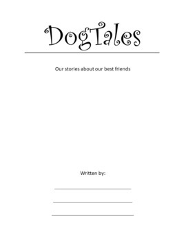 Dog Theme: Collaborative Story Starters - Visual Writing Prompts