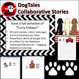 DogTales: Collaborative Story Starters Visual Writing Prompts - Dual Delivery