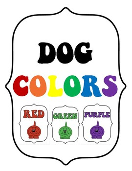 Dog Theme Color Posters