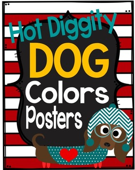Dog Theme Colors Posters