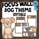 Dog Theme Decor - Focus Wall - Editable