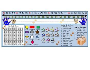 Dog Theme Desk Name Plate
