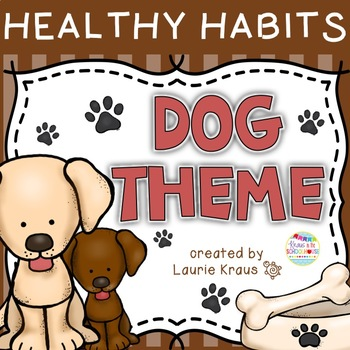 Dog Theme -  Healthy Habits Posters