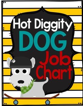 Dog Theme Job Chart *editable*