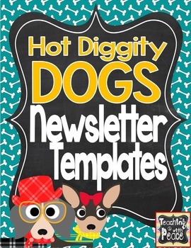 Dog Theme Newsletter Template