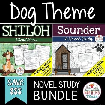 Shiloh and Sounder Novel Study Unit Bundle