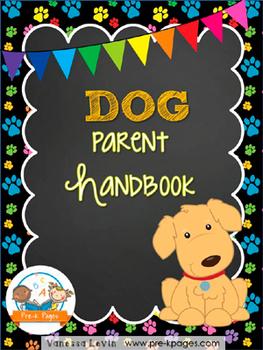 Dog Theme Parent Handbook ~ Printable ~ Back-to-School {pe