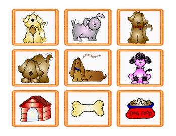 Dog Theme Partner Cards