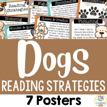 Dog Theme:  Reading Strategy Posters