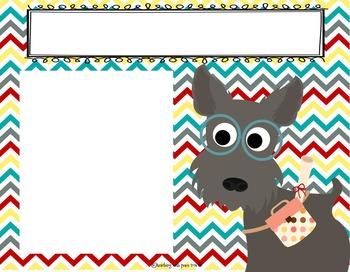 Dog Theme Slideshow Templates ***editable***