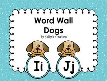 Dog Word Wall