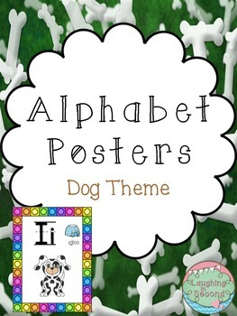 Dog Themed Alphabet Posters