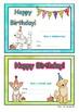 Dog Themed Birthday Certificates