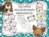 Dog Themed Book Return Reward Bulletin Board Set