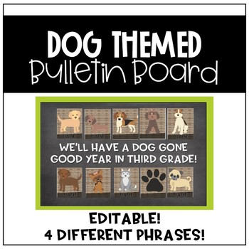 Dog Bulletin Board (Back to School)