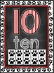 Dog Themed Classroom Decor Number Word Posters (0-10) [red