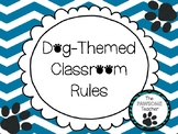 Dog Themed Classroom Rules