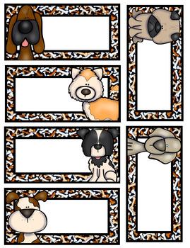 Dog Themed Door Decor