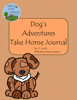 Dog Themed Journal - Take Home Friend