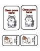 Dog Themed Labels for Hand Sanitizer Bottles