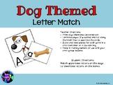 Dog Themed Letter Match