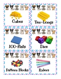 Dog Themed Manipulative Labels