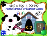 Dog Themed Math Game Boards With Fun Activities for Primary