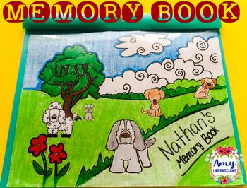 Memory Book Dog Themed