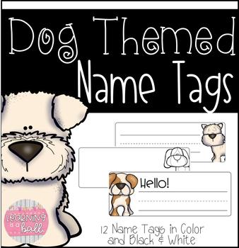 Dog Themed Name Tags!