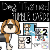 Dog Themed Number Cards!