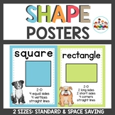 Dog Themed Shape Posters in 2 sizes