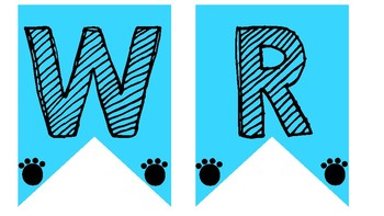 Dog Themed Subject Banners