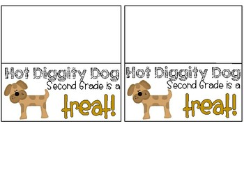 Dog Treat Labels - Open House