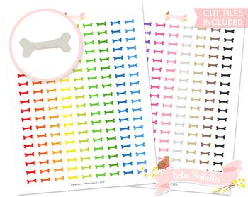 Dog Treat Printable Planner Stickers