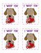 Dog Valentine's Day Cards