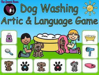 Dog Washing - Articulation & Language Game