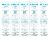 Dog Whisperer: The Rescue edition of Bookmarks Plus—Handy Little Reading Aid!