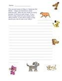 Dog Writing Prompt