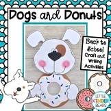 Dog and Donuts Craft, Class Book and Writing Activity for Back to School