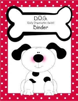 Dog and FIDO Organizational Binder Covers