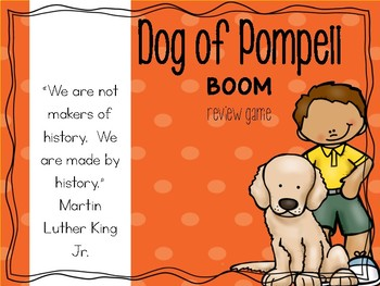 Dog of Pompeii Boom Review Game