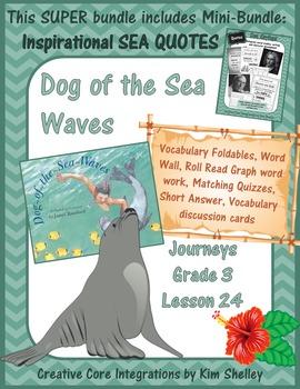 Dog of the Sea Waves Unit 5 Lesson 24 SUPER BUNDLE