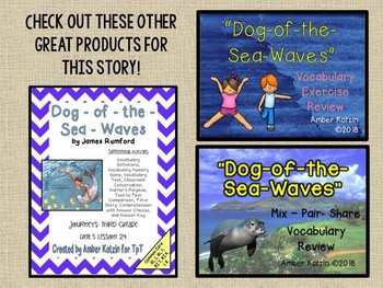 Dog-of-the-Sea-Waves: Virtual Evidence Bag Journeys 3rd Grade Lesson 24