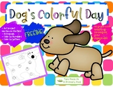 Dog's Colorful Day Literacy Activities