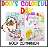Dog's Colorful Day Preschool Book Companion - Letter D