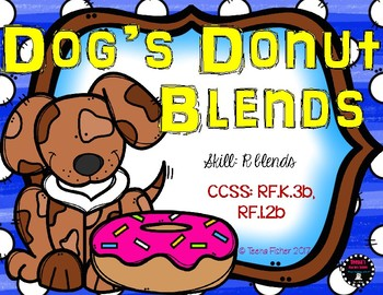Dog's Donut R Blends Kindergarten First Grade